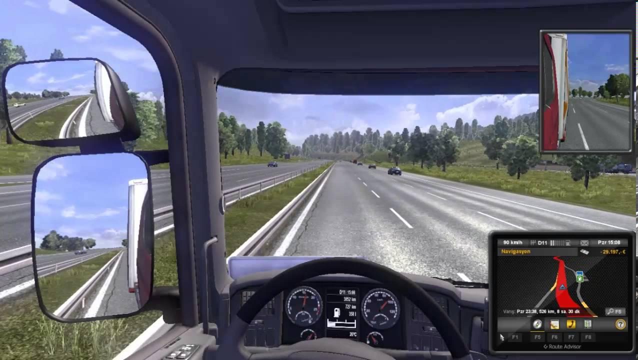 Hasan Erkan Euro Truck Tir Surme Youtube