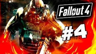 Fallout 4 - ОПАСНЫЕ ЧЛЕНЫ БРАТСТВА СТАЛИ - Крутая пушка 60 Fps 4