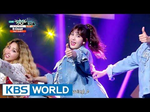 [Music Bank K-Chart] 2nd Week of May - Unnies, Triple H (2017.05.12)
