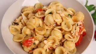 Orecchiette with Crab Recipe - Laura Vitale - Laura in the Kitchen Episode 372