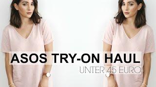 ASOS TRY-ON HAUL | ALLES UNTER 45€ | madametamtam