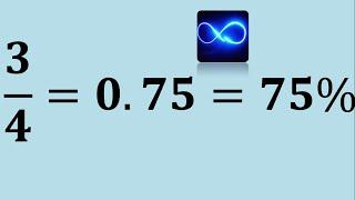 Convertir fracción a porcentaje y viceversa (Ejemplo 1)