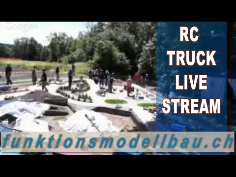 LIVE STREAM: RC TRUCK EVENT - MINI TRUCKER FESTIVAL LYSS, SWITZERLAND MAY 2014