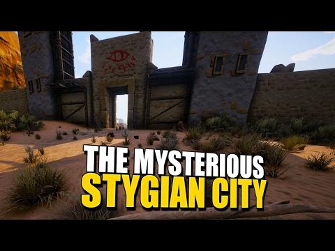 THE MYSTERIOUS STYGIAN CITY! Conan Exiles CoOp Survival 5
