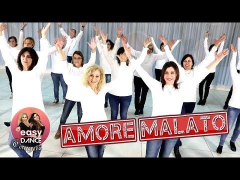 Simona Quaranta - AMORE MALATO || Ballo di  Gruppo 2019 - Easydance Coreografia || line dance