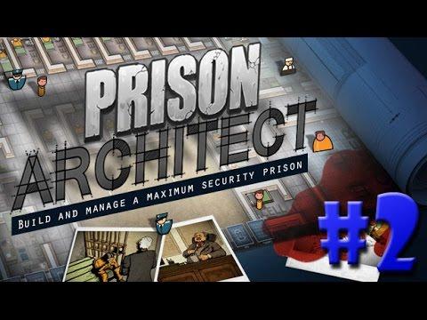 Prison Architect - OS PRIMEIROS PRISIONEIROS!!! #2 (Gameplay / PC / PTBR) HD