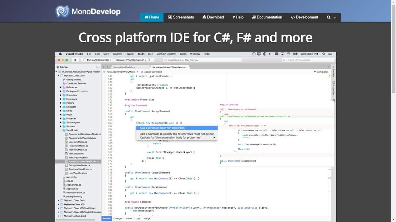 install Mono Develop IDE on Ubuntu 17 10