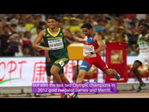 Breaking news - Rio Olympics 2016: South Africa's Van Niekerk wins gold