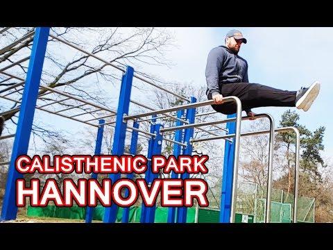 CALISTHENICS PARK HANNOVER VAHRENHEIDE 💪 Fitness Vlog Tomek