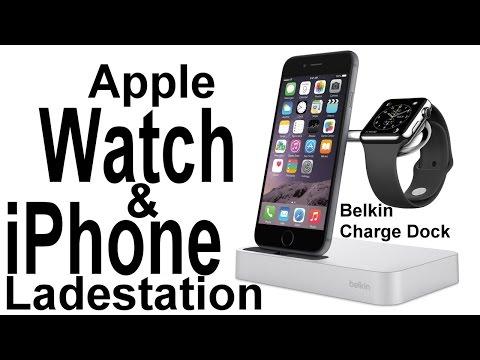 Apple Watch Und IPhone Ladestation: Belkin Charge Dock