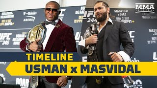 UFC 251 Timeline: Kamaru Usman vs. Jorge Masvidal - MMA Fighting