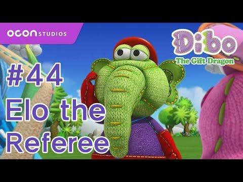 OCON] Dibo the Gift Dragon _Ep44 Elo the Referee( Eng dub) - YouTube