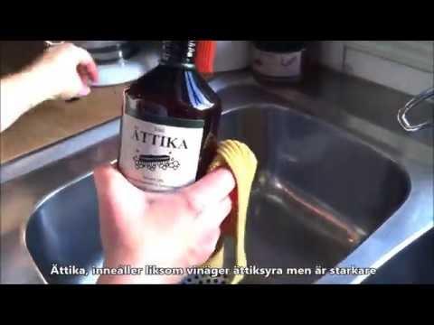 städa med bikarbonat