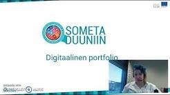 Digitaalinen portfolio - 15 minuutin johdatus aiheeseen