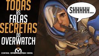 TODAS AS FALAS SECRETAS DO JOGO!!! - TODAS AS INTERAÇÕES DOS HERÓIS - Central Overwatch Brasil