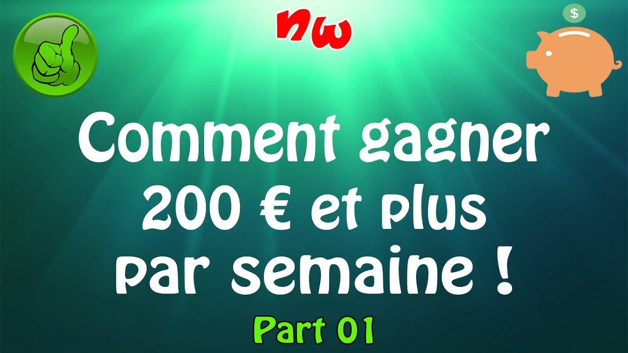 [Tuto] Gagner 200€ et plus par semaine ! | Astuce Nicky – Part 01