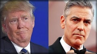CLOONEY TRIES BEING SMART ALECK TO TRUMP, EMBARASSES HIMSELF WITH DUMB MISTAKE