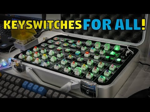 Kailh's Mech Keyswitch Collection - Notebook Switches!