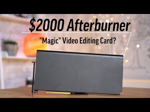 Afterburner Review - is it Worth $2000 for Video Editing?
