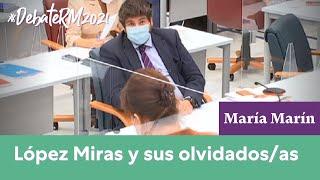 María Marín responde a López Miras en el Debate del Estado de la Región 2021