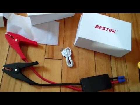 Review - BESTEK Car Jump Starter Power Bank with 8000mAh Portable External Battery Charger