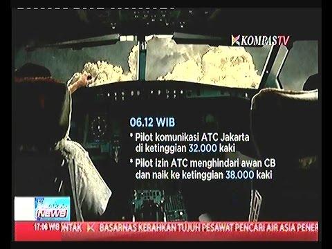 Komunikasi Terakhir Pilot Air Asia QZ 8501 Sebelum Hilang Kontak