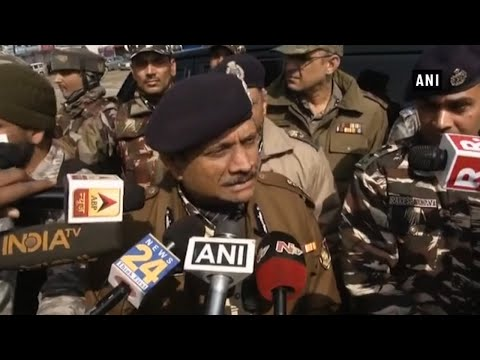 'Investigations on': CRPF Director General after visiting Pulwama attack site