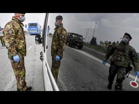 """Коронавирус: """"красная зона"""" Италии"""