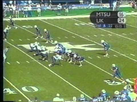 Artose Pinner vs  Middle Tennessee State 2002