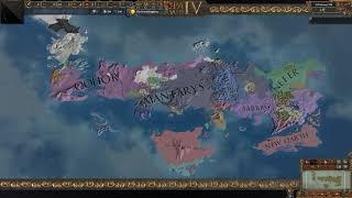 "Europa Universalis IV 1000 Year Timelapse Game Of Thrones Mod ""Qohor Supreme"""