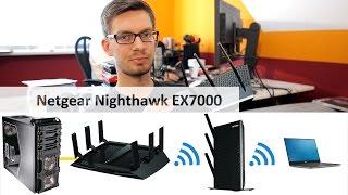 netgear ex7000 nighthawk ac1900 wifi repeater im test deutsch