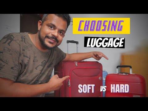 HARD VS SOFT LUGGAGE : SHOPPING TROLLEY BAG