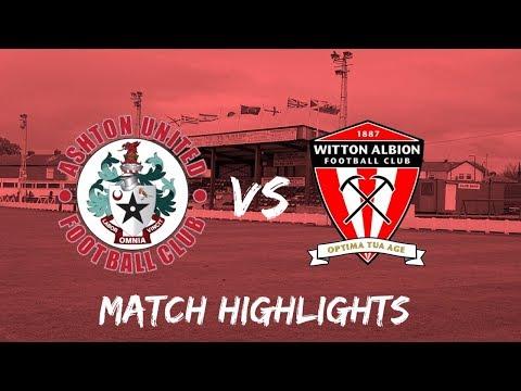 Ashton Utd Witton Goals And Highlights
