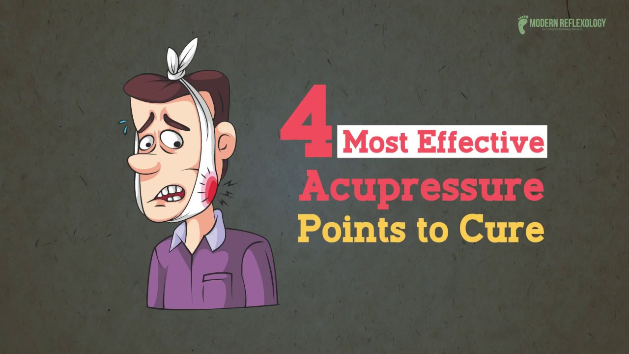 4 Most Effective Acupressure Points to Cure Toothache ...