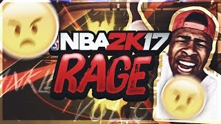 55 OVERALL MYPARK CHALLENGE GONE WRONG!! | PARK CARD RAGE!!! NBA 2K17