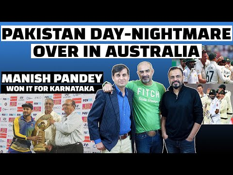 Pakistan Day-Nightmare Test Over In Australia. Manish Pandey Won It For Karnataka