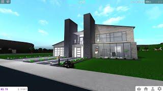 Modern House Speedbuild ($170k)| Roblox Bloxburg