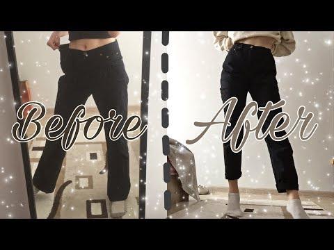Вопрос: Как сделать джинсы в обтяжку?