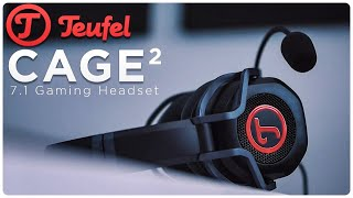 Teufel Cage 2020 Was Ist Neu 7 1 Gaming Headset Youtube