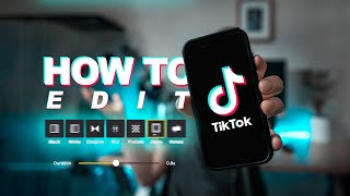 How to EDIT a TikTok video with TRANSITIONS! (FREE APP) screenshot 3