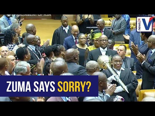 PARODY: Jacob Zuma sings Elton John's Sorry Seems To Be The Hardest Word