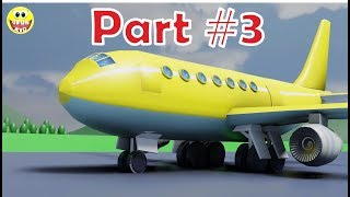 Clever tale for children about #aircrafts and #airport | learning #colors and words #7 part3