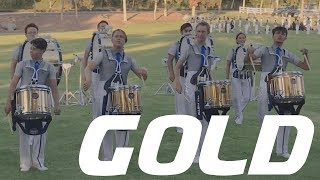 Gold Drumline 2019 - In the Lot
