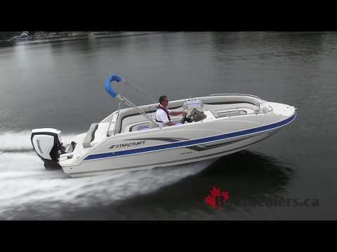 2018 Starcraft MDX 231 OB Deck Boat / Evinrude G2 E-TEC Engine