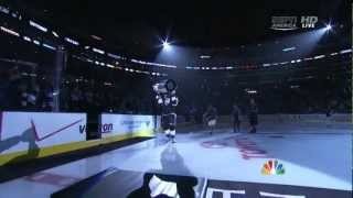 L.A Kings Stanley Cup Banner Ceremony 2013