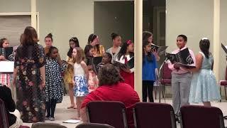 My choir concert
