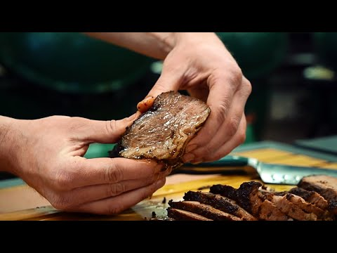 How To Cook Brisket Style Tri-Tip On A Big Green Egg
