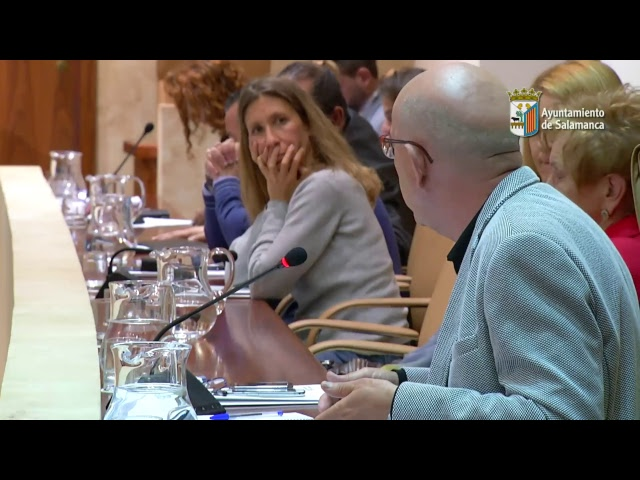 Pleno Ayuntamiento de Salamanca. Sesión Ordinaria mayo 2017