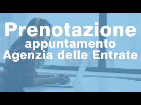 Come prenotare Appuntamento Agenzia Entrate online?