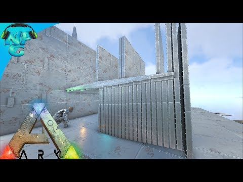 S5E2 WE BROKE THE GAME - Foundation Thick Walls and How to Build Them! ARK: Survival Evolved PVP